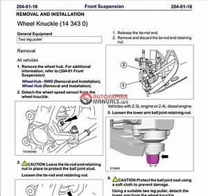 Ford Transit 2007 Workshop Manual