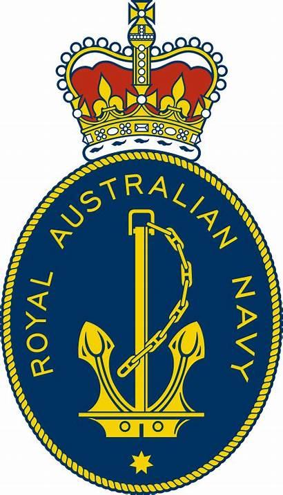 Navy Australian Royal Badge Svg Badges Wikimedia