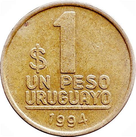 Uruguay Dolar 1 Peso Uruguayo Uruguay Numista