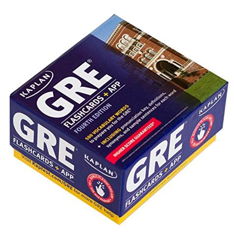 Gre Vocabulary Flashcards + App (kaplan Test Prep)  Buy Online In Uae  Cards Products In The