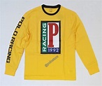 Nwt Polo Ralph Lauren Yelllow P Racing Long Sleeve Classic ...