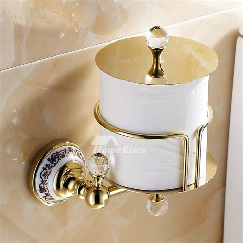 luxury wall mounted antique brass unique toilet paper roll