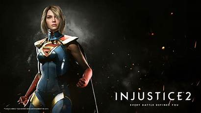 Injustice Supergirl Wallpapers Kara Dc Zor Tapeta