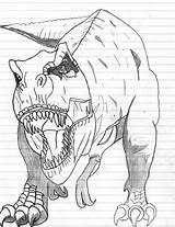 Dinosaur Coloring Rex Printable Dinosaurs Neko Yuuki Printables Bestcoloringpagesforkids Drawing El Sheets Dibujos Jurassic Printing Deviantart Prehistoric Animals sketch template