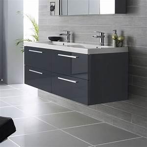 10 astuces pour amenager une petite salle de bains With materiau meuble salle de bain