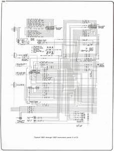 Complete 73 87 Wiring Diagrams For 1982 Chevy Truck