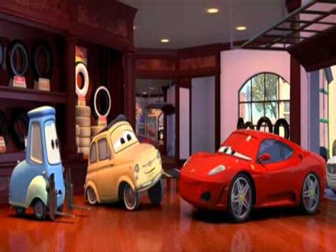 Disney pixar cars pop quiz. Cars - Luigi & Schumacher - YouTube