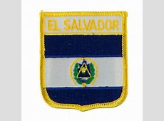 El Salvador North and South America Flag Embroidered Patch