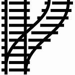 Track Train Icon Vector Rail Transparent Clipart