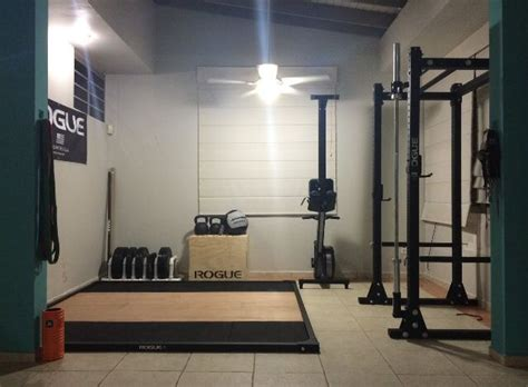rogue fitness garage 25 best ideas about rogue fitness on crossfit