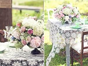 idees de deco pour mariage champetre With chambre bébé design avec fleurs pour un mariage