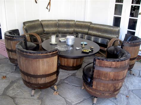 The Allee Willis Museum Of Kitsch Vintage Barrel Table
