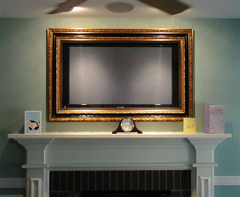 Tv Frame Who Has One? (pictures, Room, Moulding, Cost