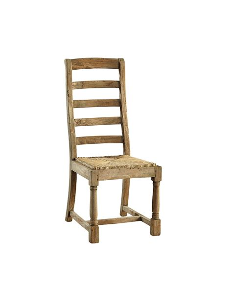 ladder back side chair rustic trades furniture