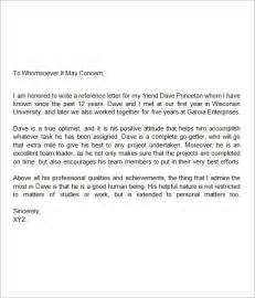 letter of recommendation for a friend letter of recommendation for a friend writing professional letters