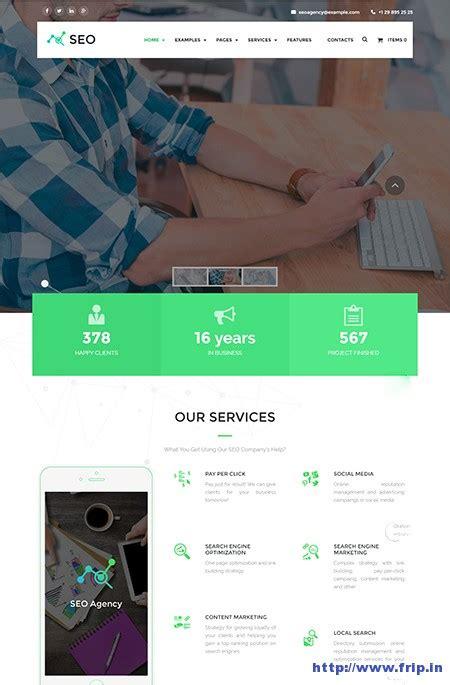 Seo Digital Marketing Agency by 32 Best Seo Themes For Seo Companies Agency