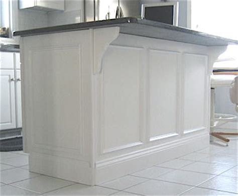 kitchen island molding trim to update your project