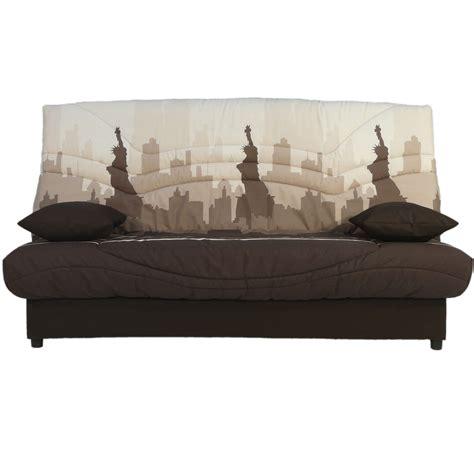 banquette clic clac 140 cm confort luxe bultex bermudes