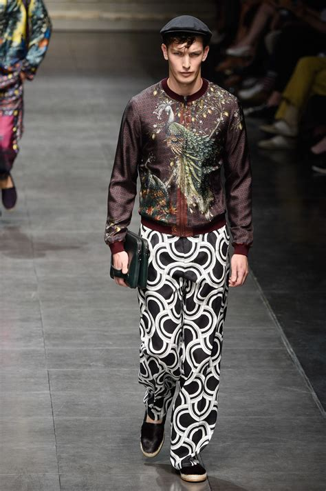 Dolce & Gabbana Spring/Summer 2016 Menswear Collection ...