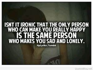 Sad Quotes When Lonely: Quotes about sadness and ...