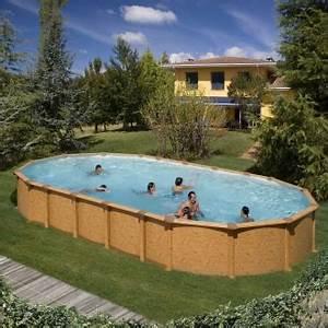 Enterrer Une Piscine Hors Sol : piscine hors sol acier pas cher livraison gratuite ~ Melissatoandfro.com Idées de Décoration