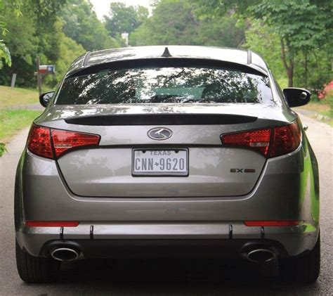 Aftermarket Kia Parts by This Kia Optima Features A Plethora Of Aftermarket Parts