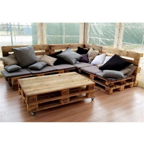 canapé en palette de bois canape en palette bois myqto com