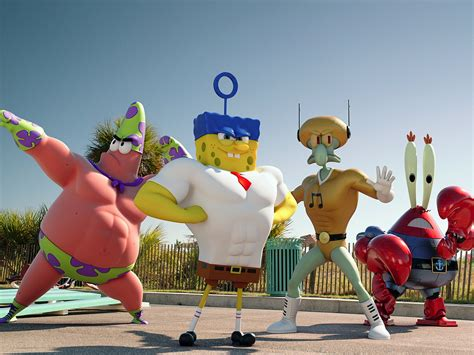 First Creepy Look At The New 'spongebob' Movie