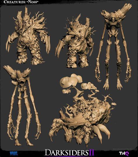 The Character Art Of Darksiders Ii Darksiders Dungeon