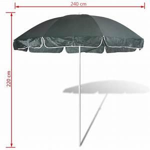 Parasol De Plage Pas Cher : acheter 240cm parasol de plage vert pas cher ~ Dailycaller-alerts.com Idées de Décoration