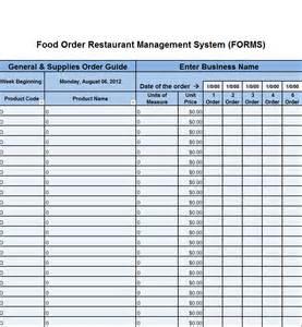 St Inventory Spreadsheet by Cumberland Pennsylvania Restaurant Consultants