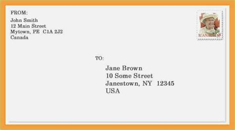 proper envelope address format usps platte sunga zette