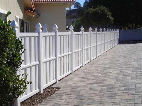 alternative styles  vinyl fencing vinyl concepts