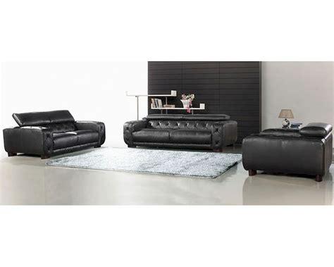 black italian leather sofa black italian leather tufted sofa set 44l6097