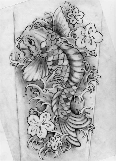 30 Koi Tattoo Design And Displacement Ideas - The Xerxes