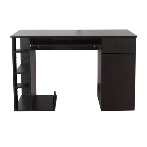 computer da scrivania homcom scrivania per computer scrivania ufficio porta pc