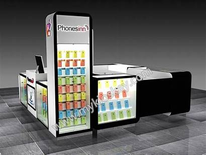 Kiosk Phone Cell Accessory Mall Mobile Paint