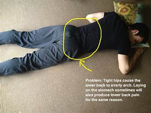Got back pain when sleeping here39s how to fix it in for Back hurts when sleeping on stomach