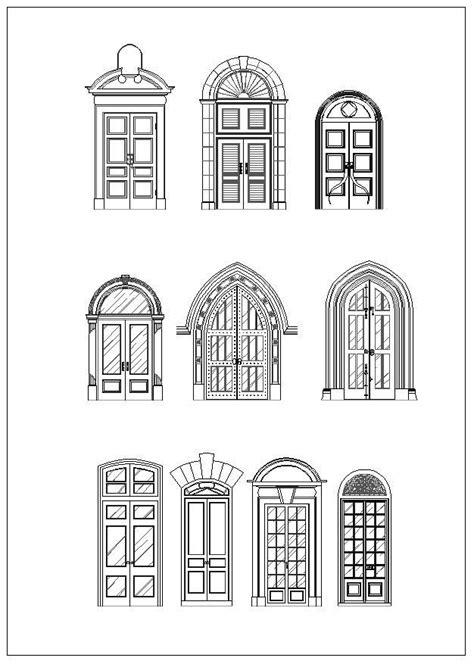 door  window designarchitecture ornamental parts