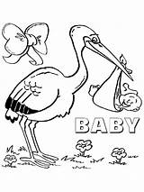Stork Coloring Pages Storks Movie Printable Print Pets Secret Ecoloringpage Birds Popular sketch template