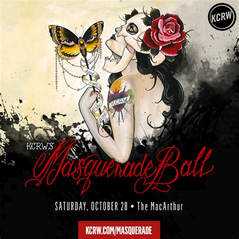 Kcrw's Masquerade Ball  Kcrw Events
