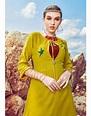 Rs 690 Pc Kiana Parker Stitched Kurti Wholesale Catalog 10 ...