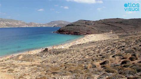 Mykonos Greece Agios Sostis Atlasvisual Youtube