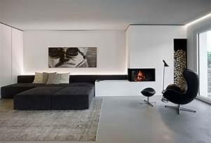 Schwarz Wei Wohnzimmer Design Inspirierend Und Ideen