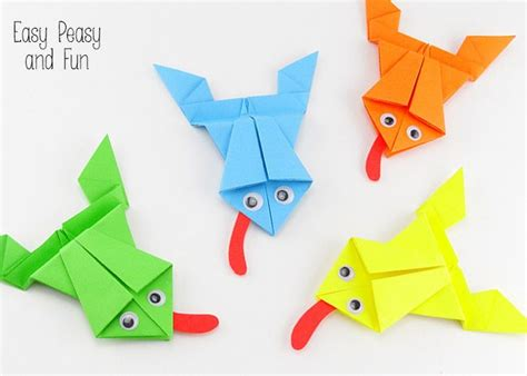 Best 25+ Origami Frog Ideas On Pinterest