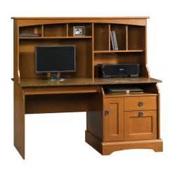 shop sauder graham hill autumn maple computer desk at lowes