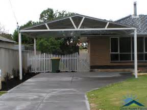 Patio Cover Roofing Material by Carports Perth Steel Carport Builders Great Aussie Patios