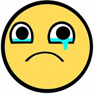 Cartoon Sad Face Crying - ClipArt Best