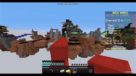 Bedwars With Different Texture Pack And Youtube