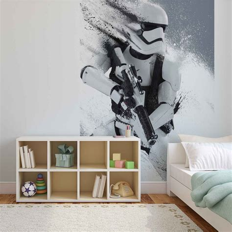 Star Wars Force Awakens Wall Paper Mural  Buy At Europosters